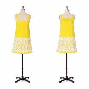 Anthro Floreat Cloud Dress Lace Shift Sun Dress